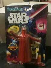 Vintage 1994 Star Wars Just Toys BendEms Emperor's Royal Guard w/ Topps Card