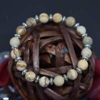 Supreme Healer Jasper Stone Handmade Bracelet Beaded Healing Chakra Reiki