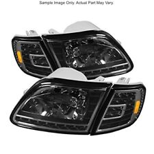 Spyder 5014184 LED Crystal Headlights 97-02 Ford Expedition/F150 Pair B