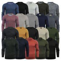 Mens Jumper Brave Soul Knitted Sweater In Various Styles