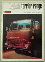 LEYLAND TERRIER RANGE Commercial Vehicles Sales Brochure Aug 1970 #0140