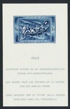 SWITZERLAND 1945 LIFEBOAT SHEET, VF MNH Sc#B143 (SEE BELOW)