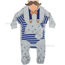 Baby Boy Clothes 5 Piece Gift set layette Little Gents Newborn 0-3 months 3-6 m