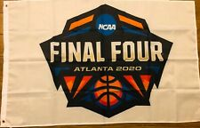 NCAA Final Four 2020 Flag 3x5 Basketball Atlanta White Banner