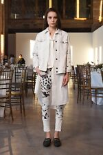 Rachel Comey | White Printed Capital Pants Jeans sz US6 / AU10