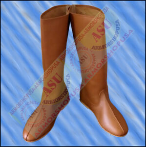 Accurate Footwear Early Medieval Renaissance Re-enactment Boots Mens Shoes Shoe