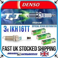 3x DENSO IKH16TT IRIDIUM TT SPARK PLUGS for toyota YARIS/VITZ 1.0 VVT-i 08.05-