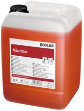 Into Citrus 10 Liter Sanitär Kraftreiniger Bad + WC Reiniger Ecolab
