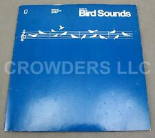 "Guide To Bird Sounds National Geographic Society 331/3 RPM 9"" Flexi-Disc NM 1983"