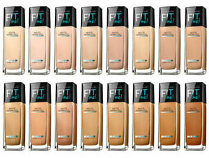 Maybelline New York Fit Me! Matte + Poreless Normal to Oily Foundation 36 shades