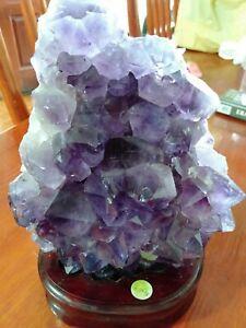 Purple Crystal Stone