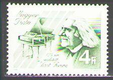 Hungary 1986 Sc3003  Mi3842A  1v mnh  F.Liszt,Composer