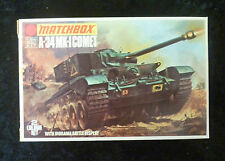 Matchbox WW2 A-34 Comet Tank Model Kit 1/76 Scale