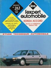 Revue Technique Automobile - Honda Accord - Essence - Depuis 1985 - N° 263