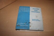 Ford Tractor & Equipment Service Bulletins Manual 1966-69