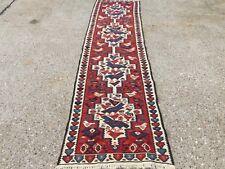 Old Turkish Kilim Runner, shabby chic, vintage, wool country home decor kelim