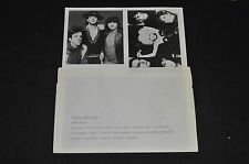 MEDIA PHOTO STEVIE RAY VAUGHN DOUBLE TROUBLE. MISSING PERSONS ALLEN PARSONS RARE