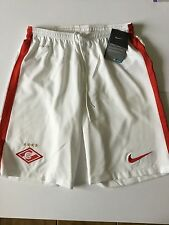 "Nike SPARTAK MOSCOW Football Shorts Dri Fit Size M (9"")"