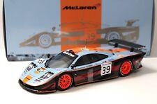 1:18 Minichamps McLaren f1 GTR Long Tail LM Gulf #39 New chez Premium-modelcars