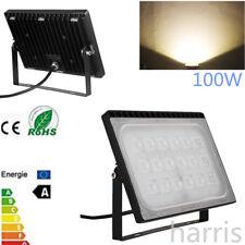 100W 220V IP65 LED Warm White Floodlight Spotlight Garden Outdoor Safety Lamp