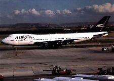 B747-200 , Air Plus Comet ,  Ansichtskarte