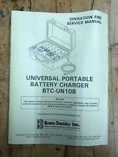 Bren-Tronics Pp-8444A/U Universal Portable Charger *Unused Surplus*