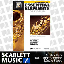 Essential Elements For Band Book 1 (One) - Eb Alto Saxophone - w/ EE Interactive
