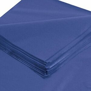 """Gift Grade Tissue Paper 20"""" x 30"""" Parade Blue - 480 sheets/pack"""