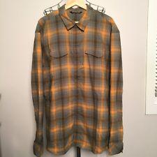 ARC'TERYX men's Plaid Flannel GRYSON Shirt XXL 2XL $119