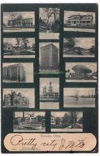 TOLEDO Ohio - 1906 POSTCARD Multi-View