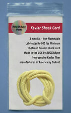 "KEVLAR 24"" Non-Flammable Shock Cord - 3mm 900lb. Made in USA - Free Shipping !"