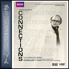 CONNECTIONS - THE COMPLETE SERIES - JAMES BURKE  *** BRAND NEW DVD BOXSET***
