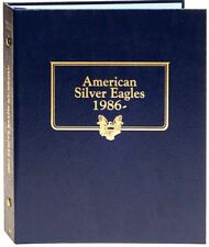 Whitman Album 3395 Will Hold a Set of American Silver Eagles 1986-Up   Brand New