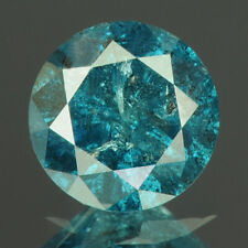 0.51 cts. CERTIFIED Round Cut Vivid Royal Blue Color Loose Natural Diamond 21599