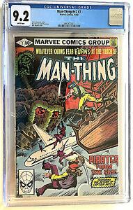 Man-Thing V2 #  7 CGC 9.2