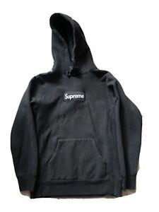 Supreme Black Box Logo Bogo Hoodie Pullover Small