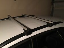 new cross bar roof racks for Subaru Forester 1997 - 2007 connects to side rails