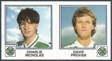 PANINI FOOTBALL 83-#407-A-B-CELTIC-CHARLIE NICHOLAS / DAVIE PROVAN