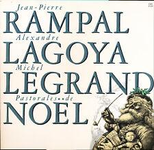Rampal Lagoya Legrand Pastorales De Noël CBS FM 37205 Promo LP