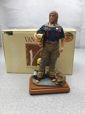"""Vanmark """"Getting Personal """" Fireman Figurine 1997 Vintage KG WSR"""