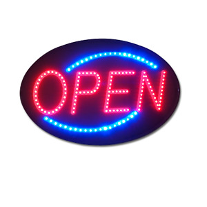 """Pro-Lite - The most popular LED OPEN Sign in the World! 21"""" x 13"""" Ultra Bright"""