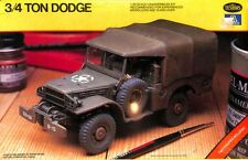 Italeri Testors 1:35 3/4 Ton Dodge Truck Plastic Model Kit #775