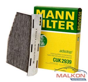 MANN Active Carbon Cabin Filter VW Golf  Passat Audi A3 1K2819653 CUK2939/1