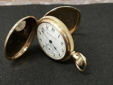 Elgin Natl Pocket Watch Co. B.W. Raymond Dueber Case 14k Gold Special 1890 SZ 18