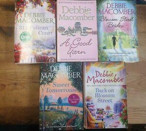 Debbie Macomber Bundle job lot 5 books Novels 02
