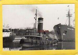 MSC ARROW 1938 Manchester Ship Canal Co tug    -Photograph