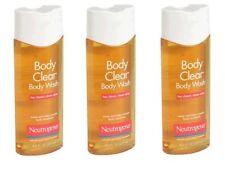 3 Pack Neutrogena Body Clear Body Wash - 8.5 fl oz Each
