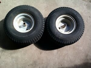 Turf Saver lawn mower tires with rims wheels 20x8x8 TUBED 092511601