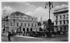 B6166 Italy Milano Piazza della Scala oldtimer