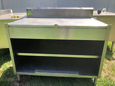 48 X 30 Stainless Steel Heavy Duty Work Table With Under Shelf Kitchen Cabinet